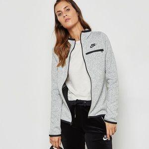Nike Tech Fleece Summit Zip Up Gray Jacket
